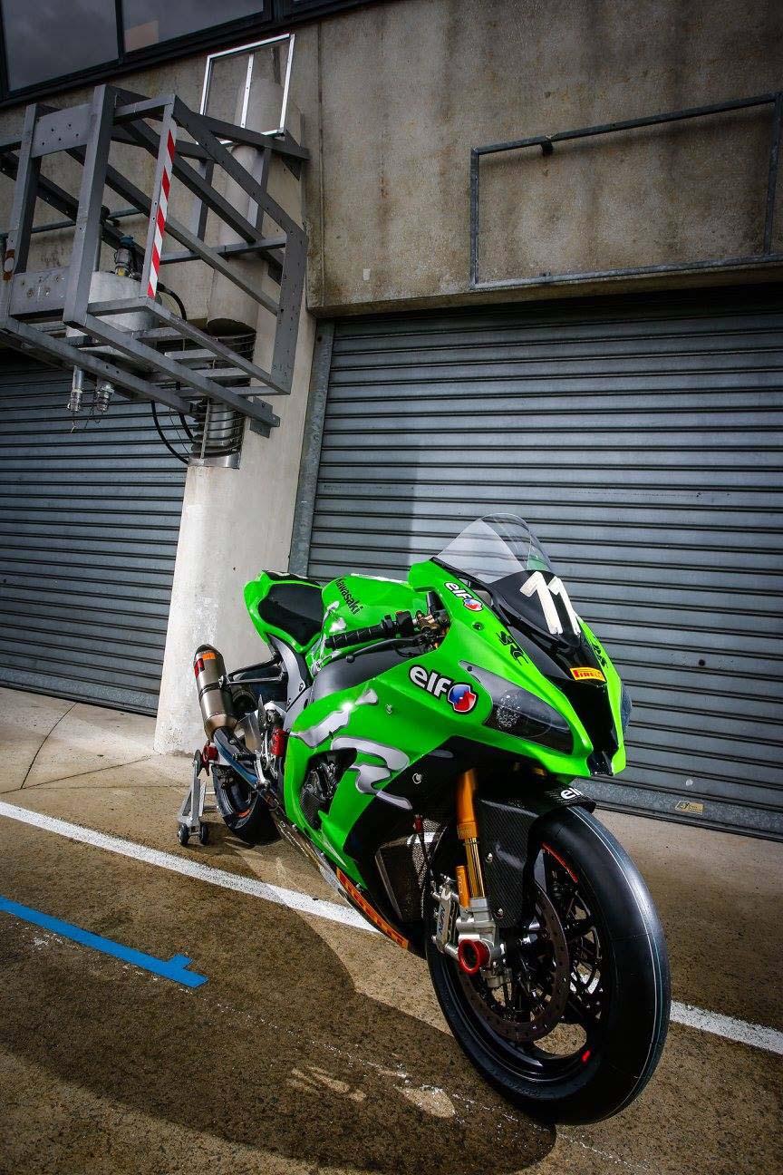 Team Kawasaki SRC Ninja ZX-10R World Race Bike