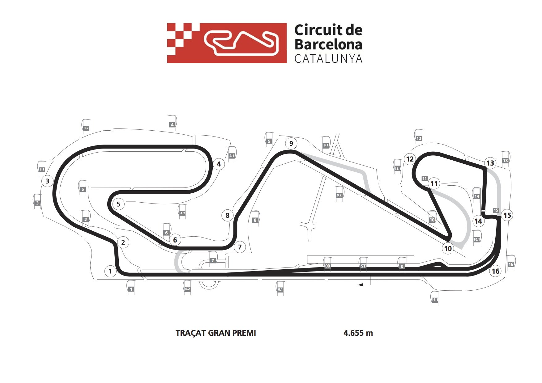 Catalunya Track Amp Schedule Modified After Salom Incident
