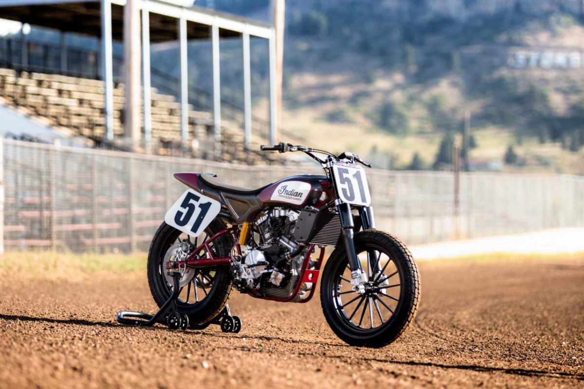 Indian's Flat Track Racer Now Available to Mere Mortals