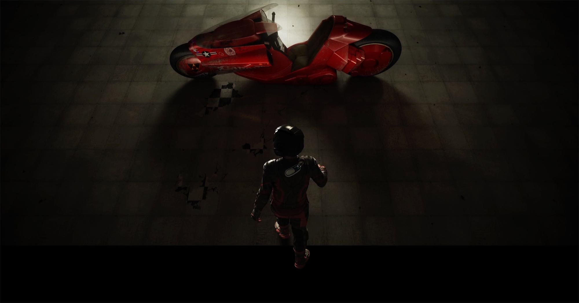 An Homage To The Kaneda Bike In Akira