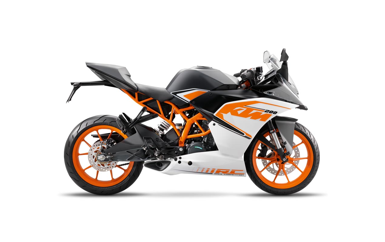 bold new graphics for the 2017 ktm rc390 kin. Black Bedroom Furniture Sets. Home Design Ideas