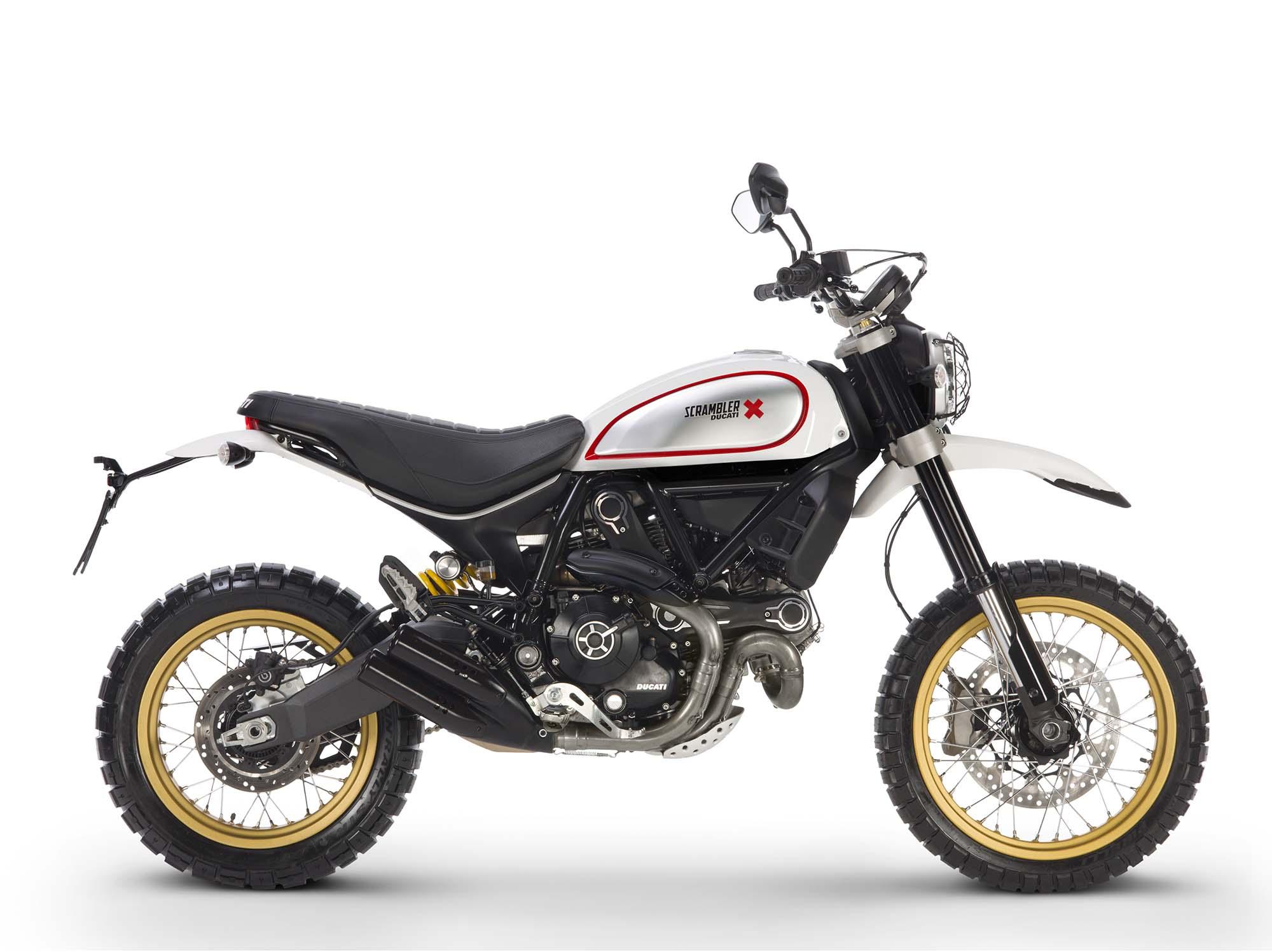Ducati Scram... Ducati Scrambler
