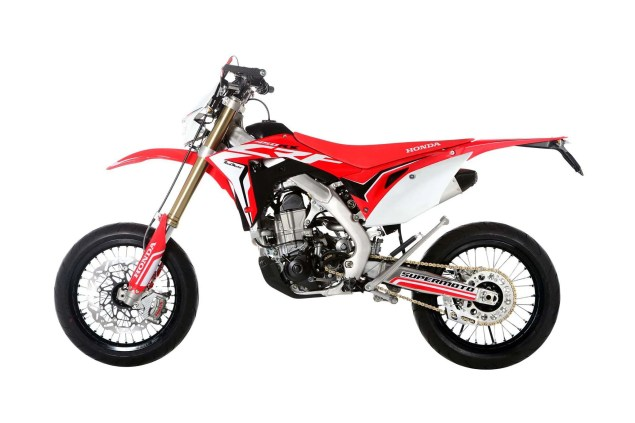2017 honda crf450 supermoto for france only. Black Bedroom Furniture Sets. Home Design Ideas