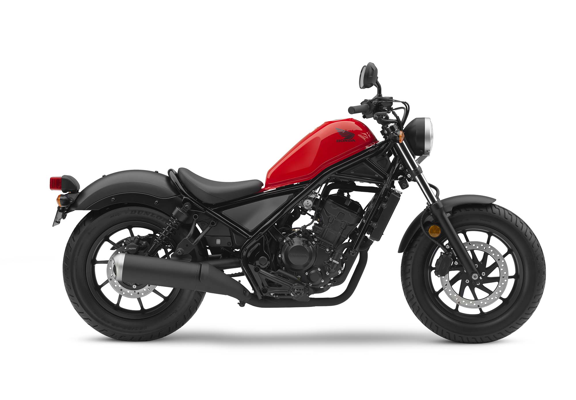 new honda rebel 500 rebel 300 models debut. Black Bedroom Furniture Sets. Home Design Ideas