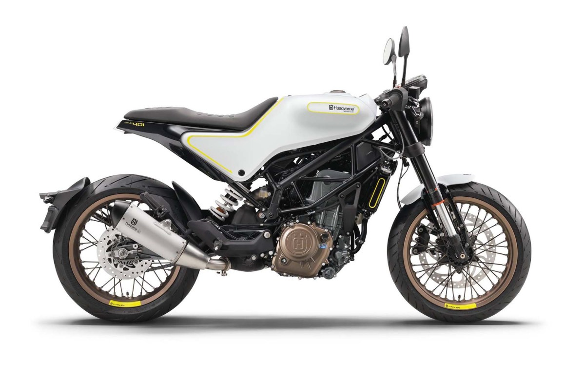 The Husqvarna Vitpilen 401 Is Finally a Production Model