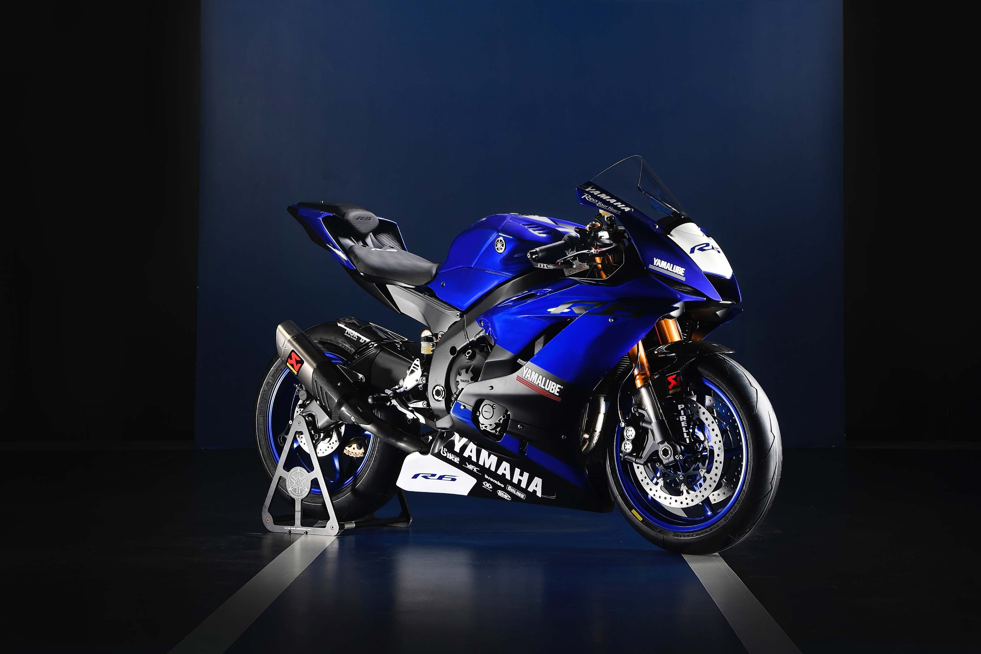 Yamaha YZF R6 Reporting For World Supersport Duty