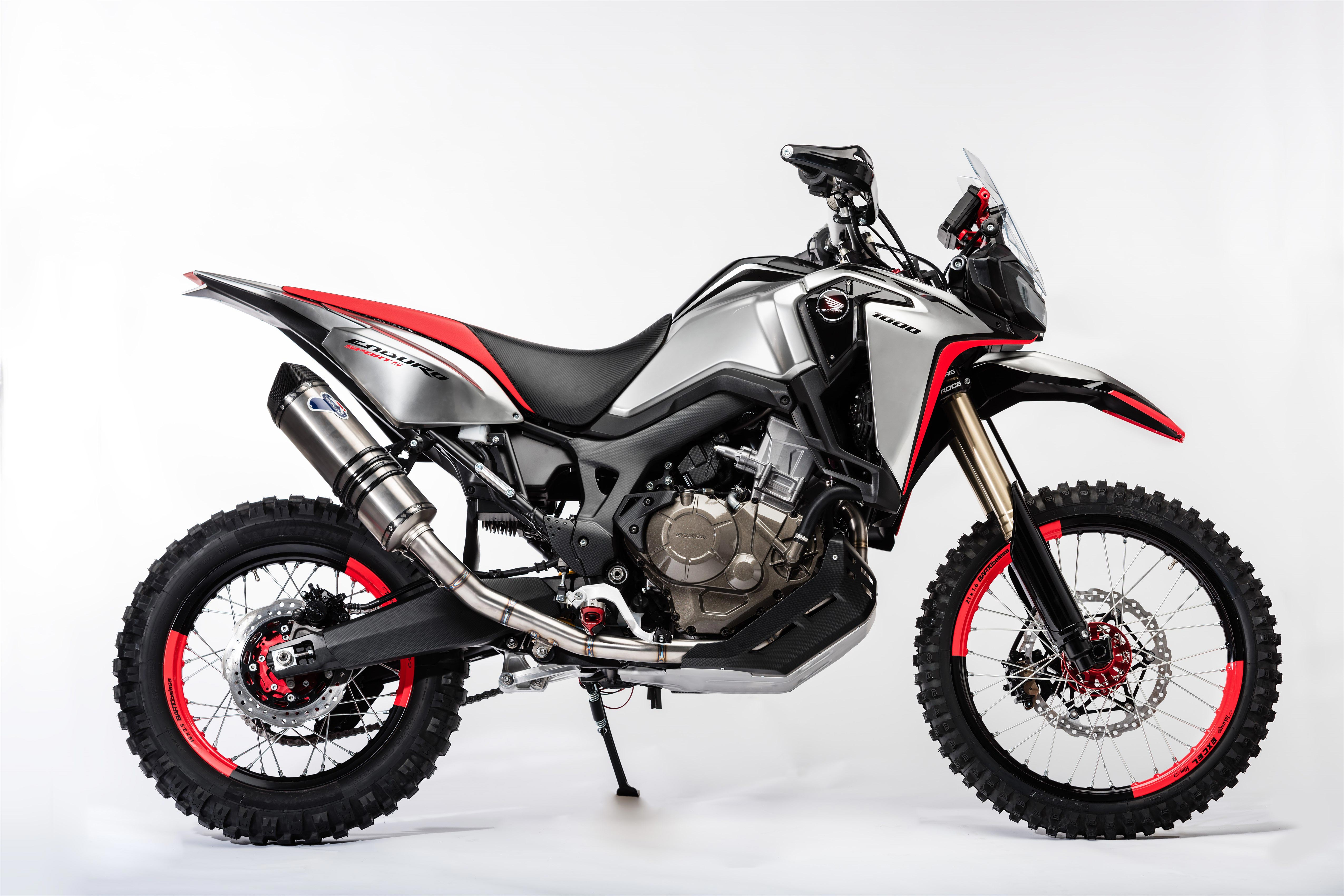 oh my the honda africa twin enduro sports concept. Black Bedroom Furniture Sets. Home Design Ideas