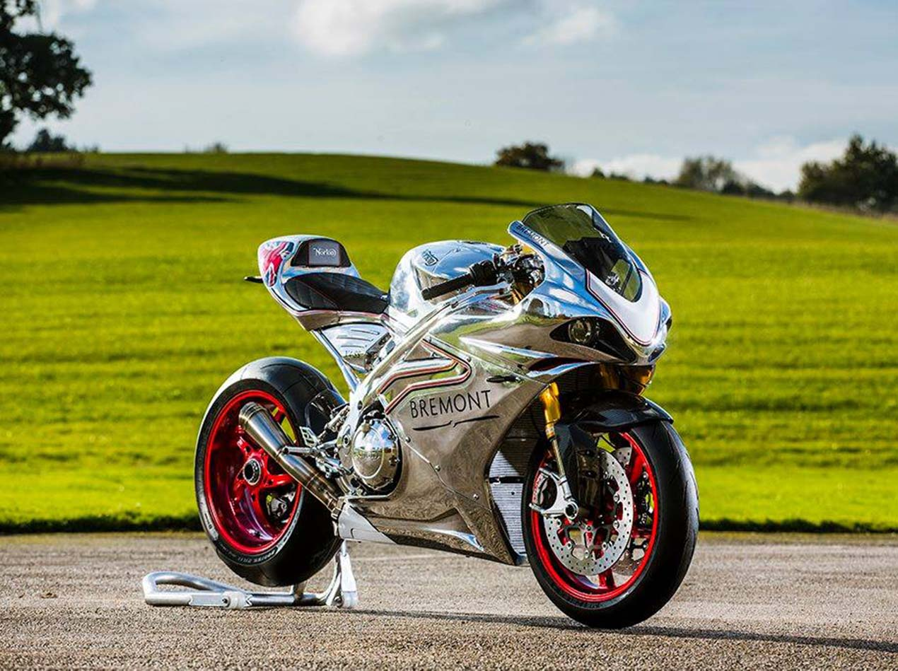 Here It Is The Norton V4 RR Superbike