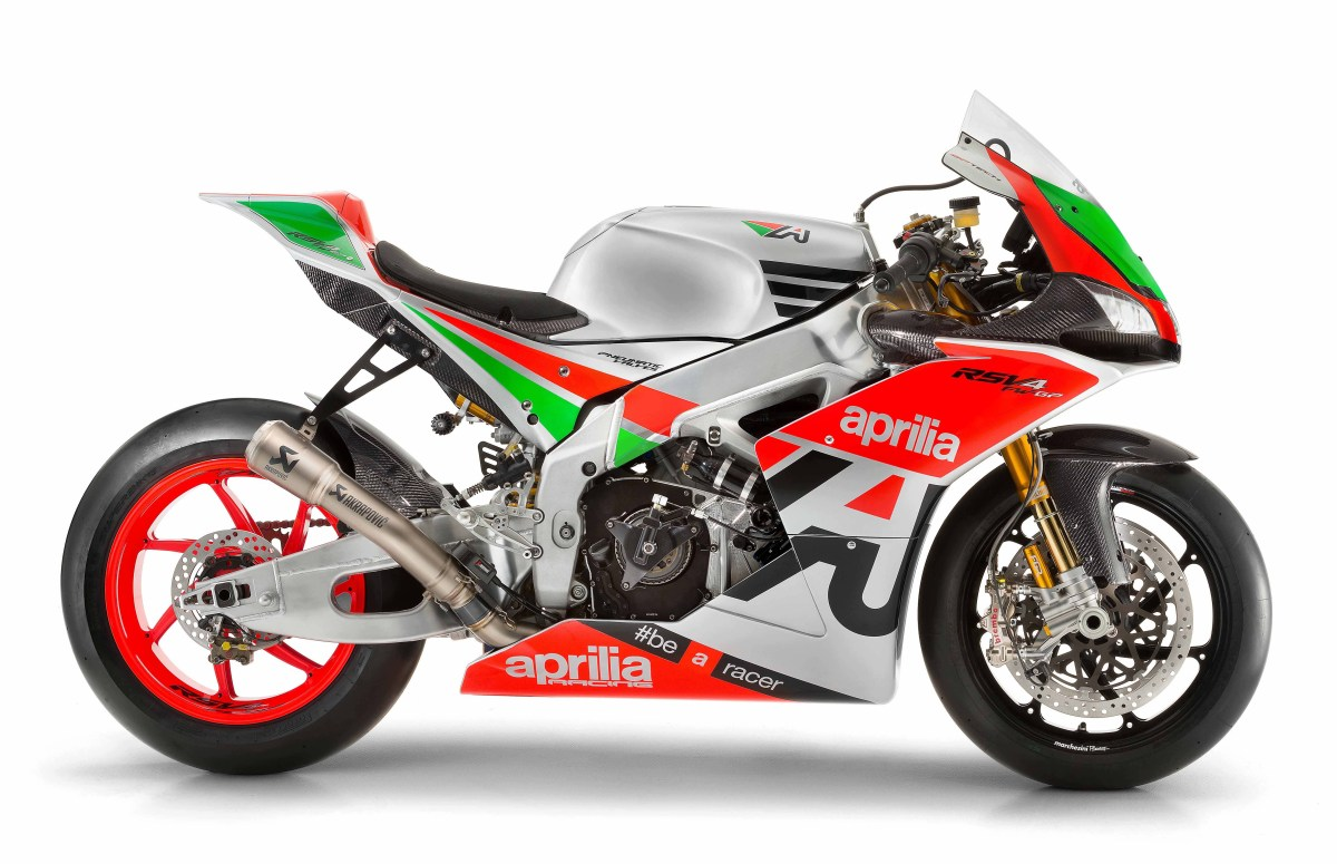 Say Hello to the 250hp Aprilia RSV4 R FW-GP