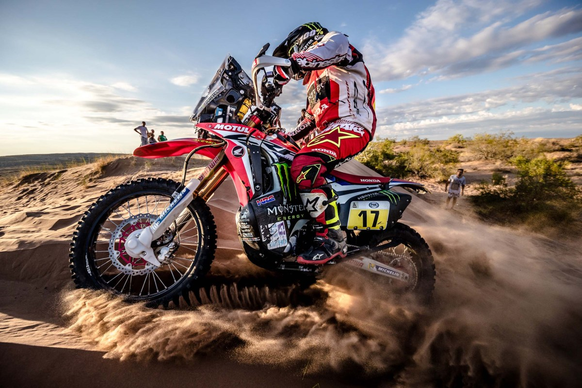Some Notes on the 2017 Dakar Rally