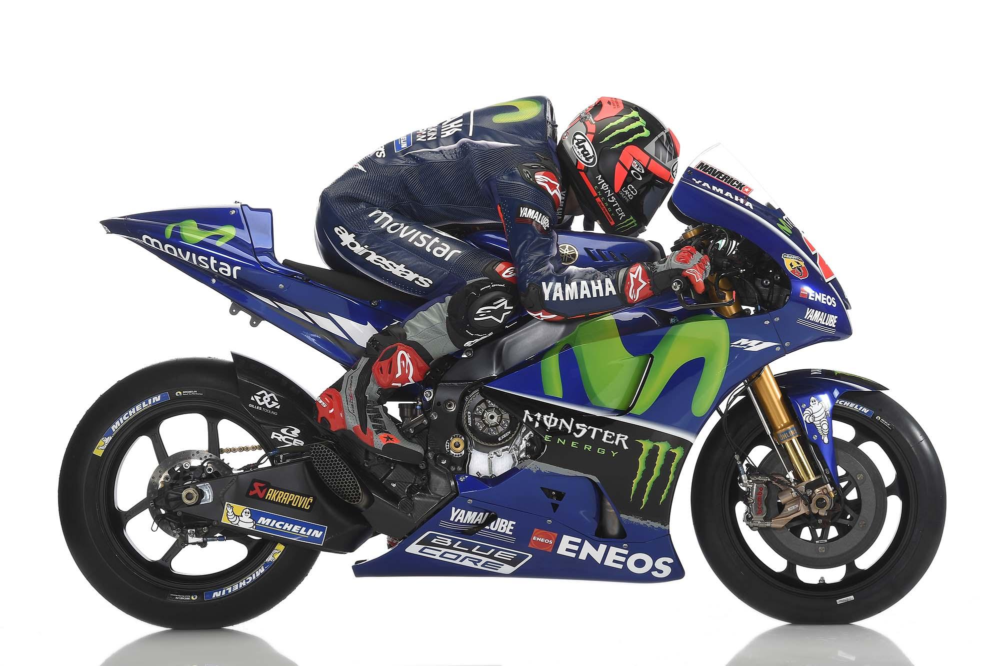 2017 Yamaha MotoGP Team Launches in Spain - Asphalt & Rubber