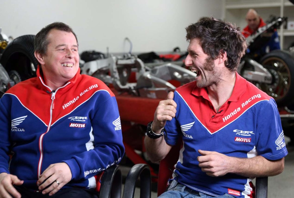 The Dynamic Duo That Is John McGuinness & Guy Martin