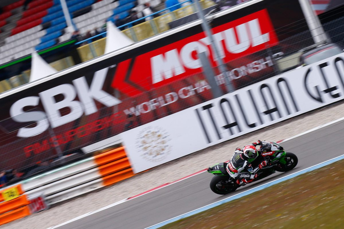 WSBK: Jonathan Rea Wins Hard-Fought Race 1 at Assen