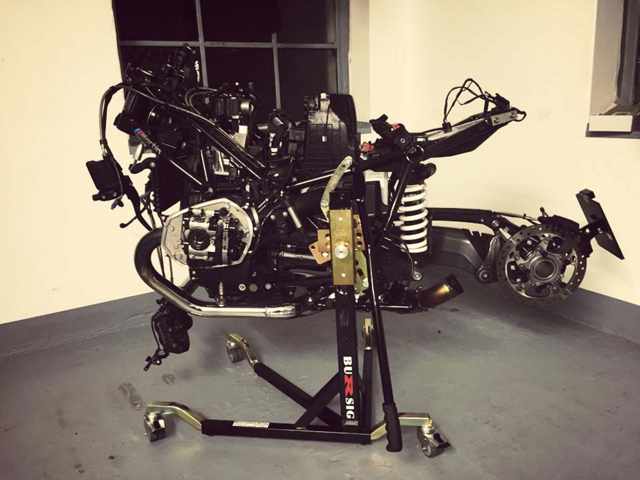 In Search Of The Ultimate Motorcycle Paddock Stand