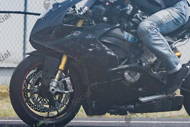 Ducati V4 Superbike Spotted Again, More Details Revealed