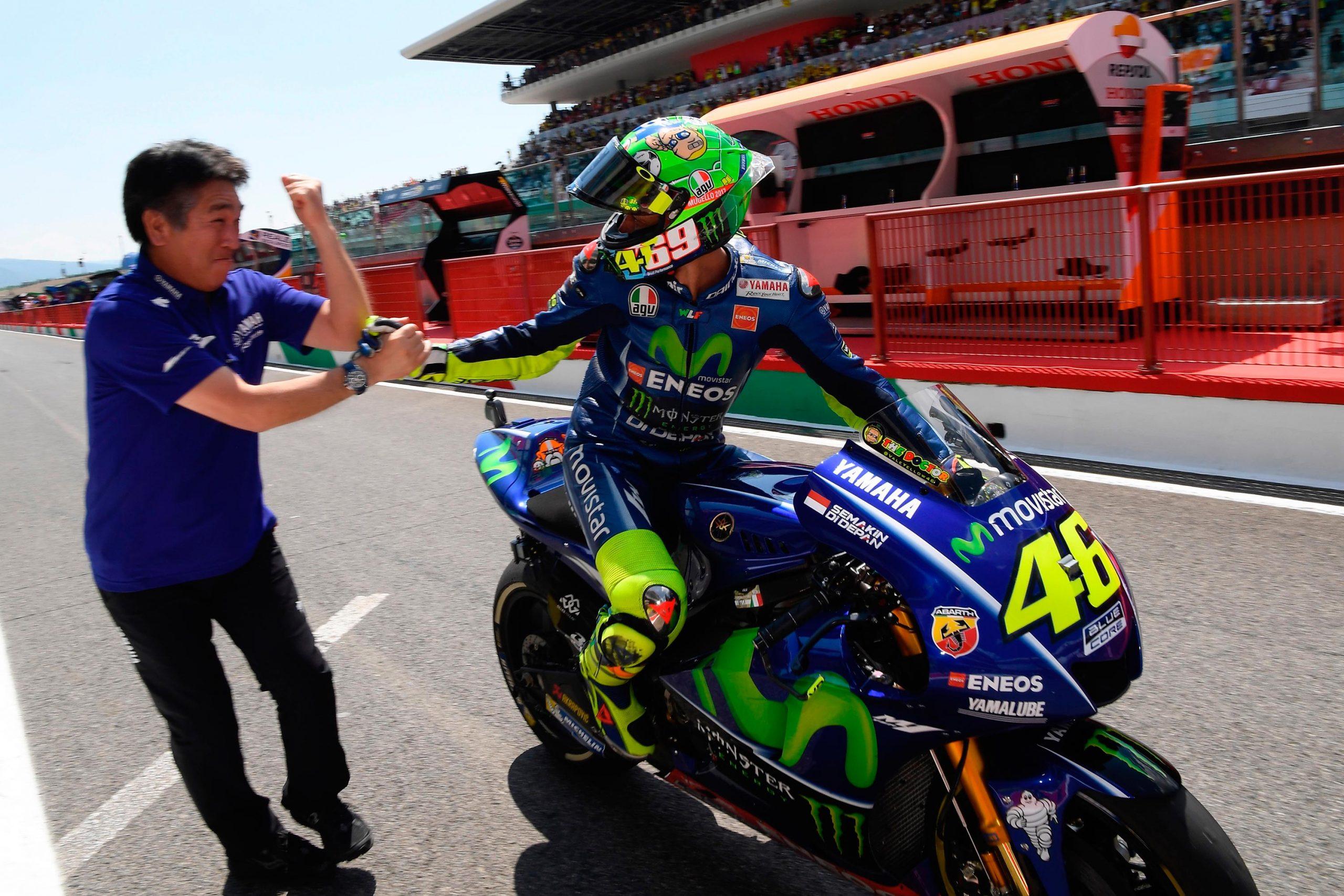 Saturday MotoGP Summary at Mugello: Rossis Recovery