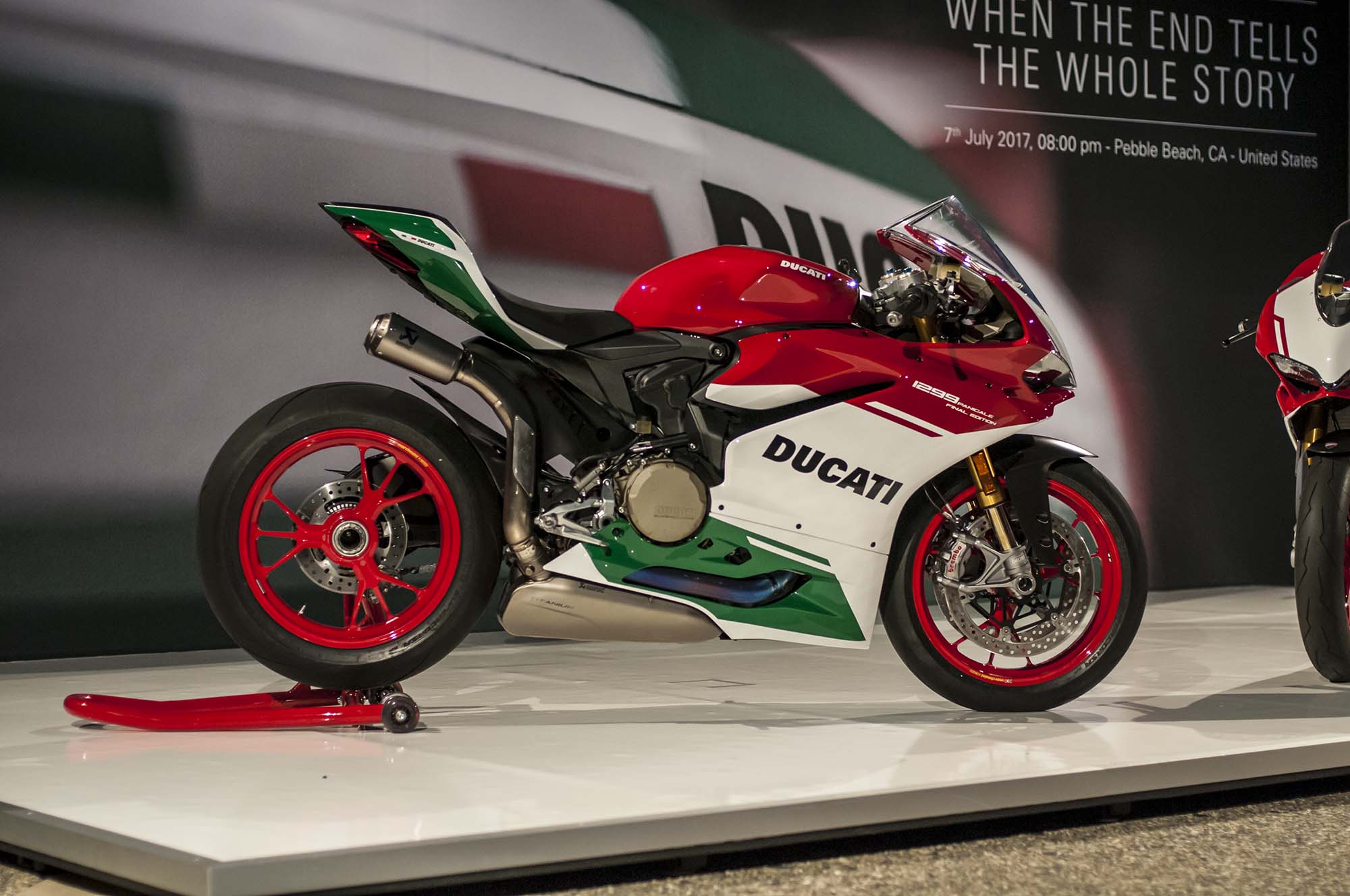 Up Close With The Ducati 1299 Panigale R Final Edition Asphalt Rubber
