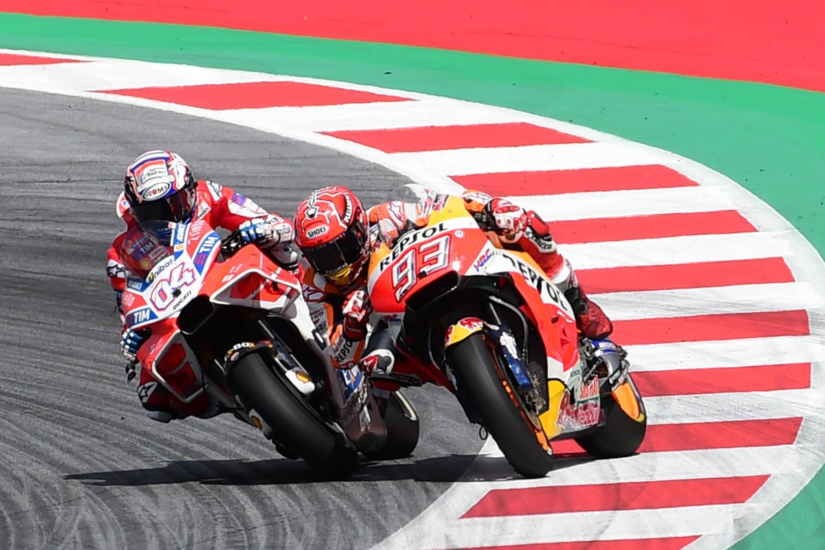 Andrea Dovizioso Wins Last-Lap Thriller at Austrian GP