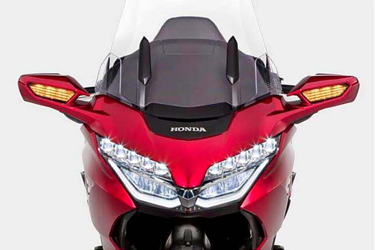 2018 honda goldwing motorcycle. Contemporary 2018 It Will Be Interesting To See The Full List Of Upgrades And Technical  Changes For Honda Gold Wing Later Next Month So Far We Like What See On 2018 Honda Goldwing Motorcycle S