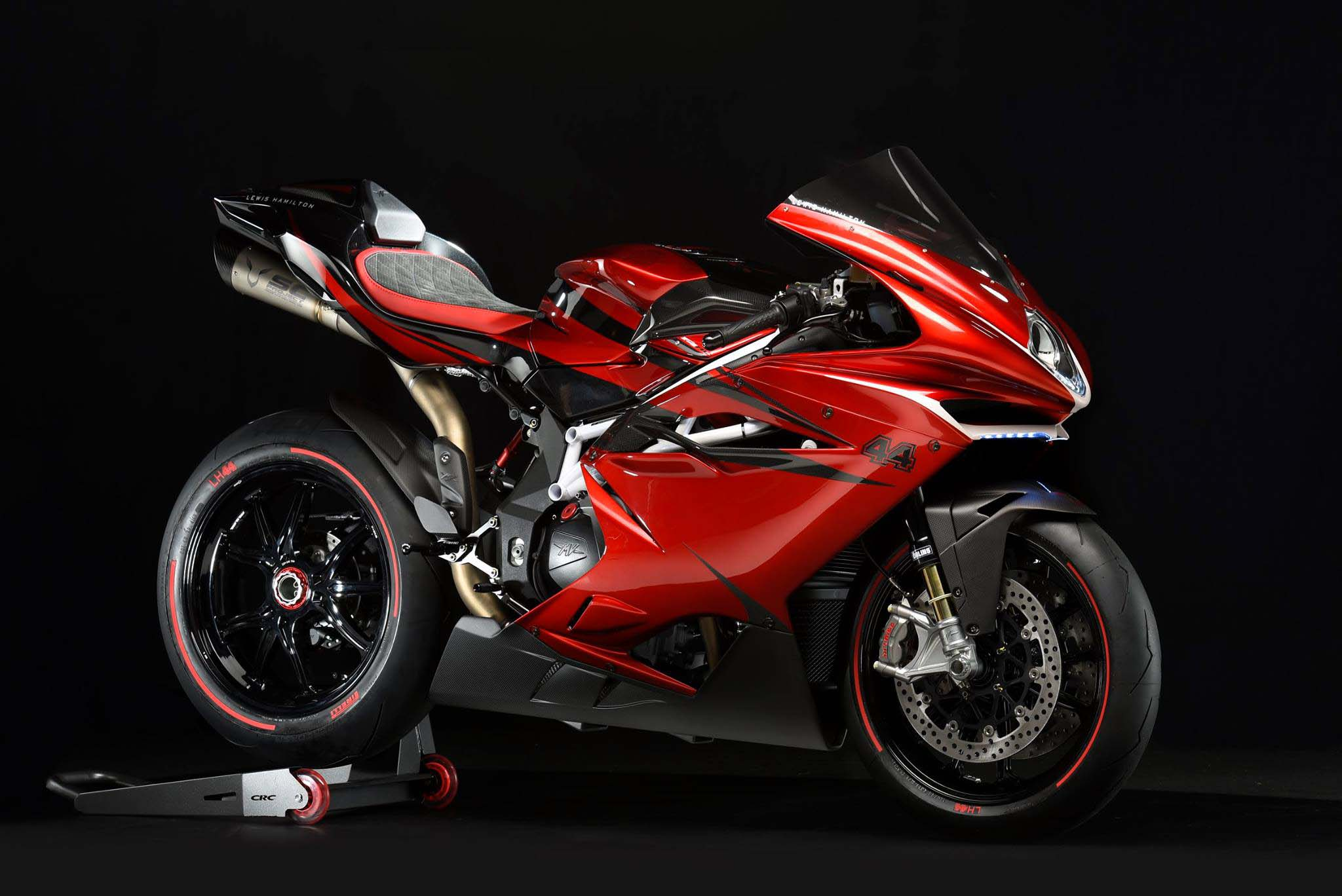 mv agusta f4 lh44 limited edition debuts asphalt rubber. Black Bedroom Furniture Sets. Home Design Ideas