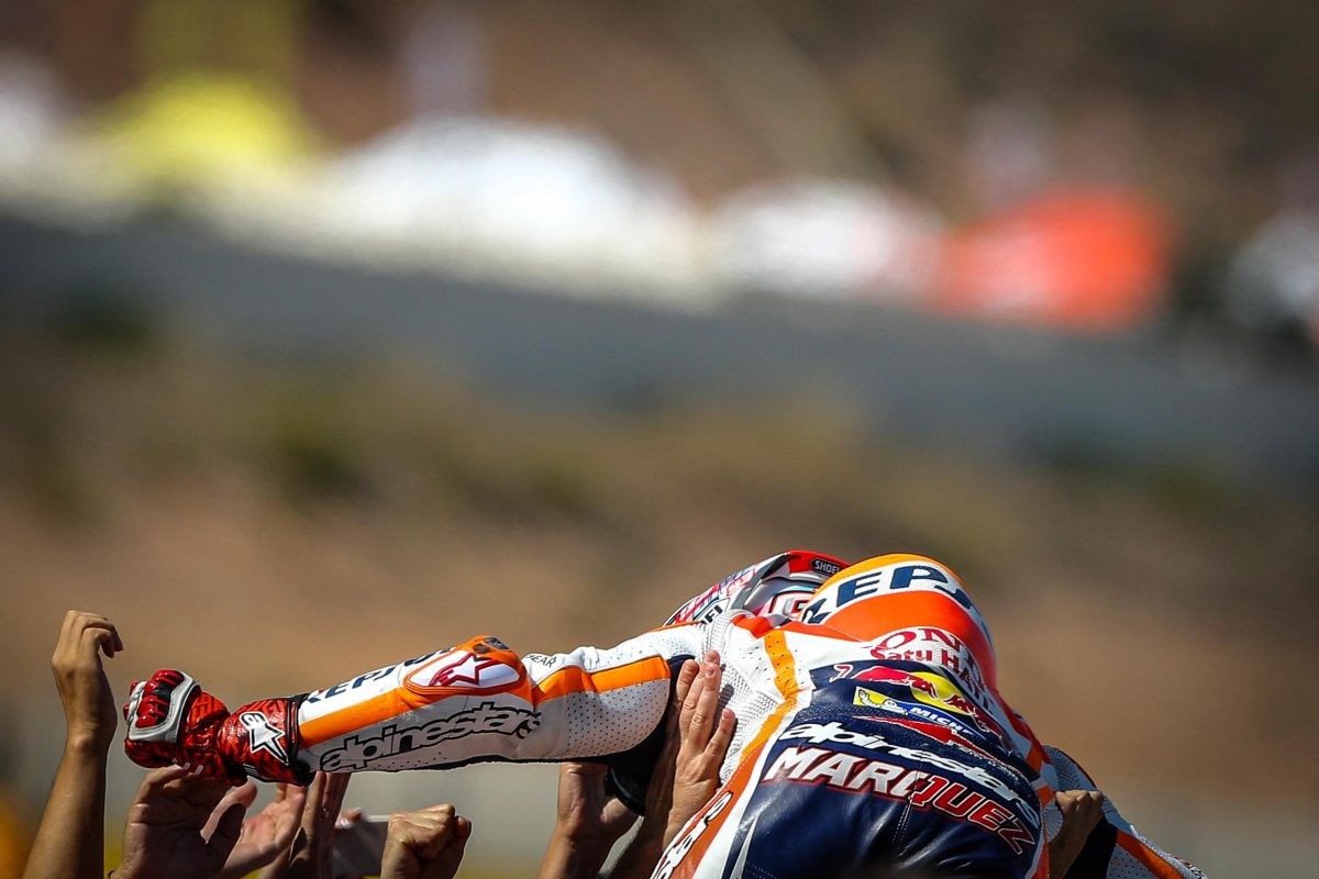 Marc Marquez Leads Honda 1-2 at Aragon GP