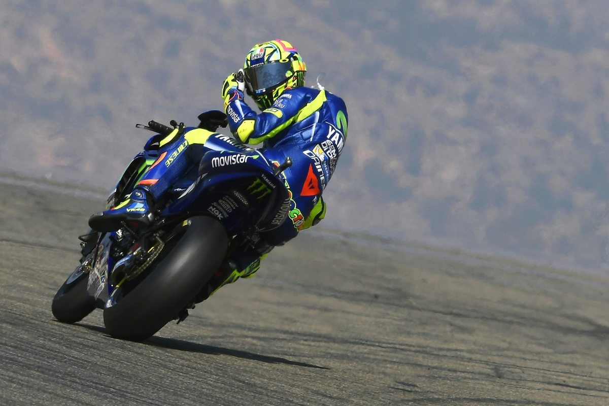 Saturday MotoGP Summary at Aragon: Losing Practice Time, Deceptive Times, And Rossi's Miraculous Recovery