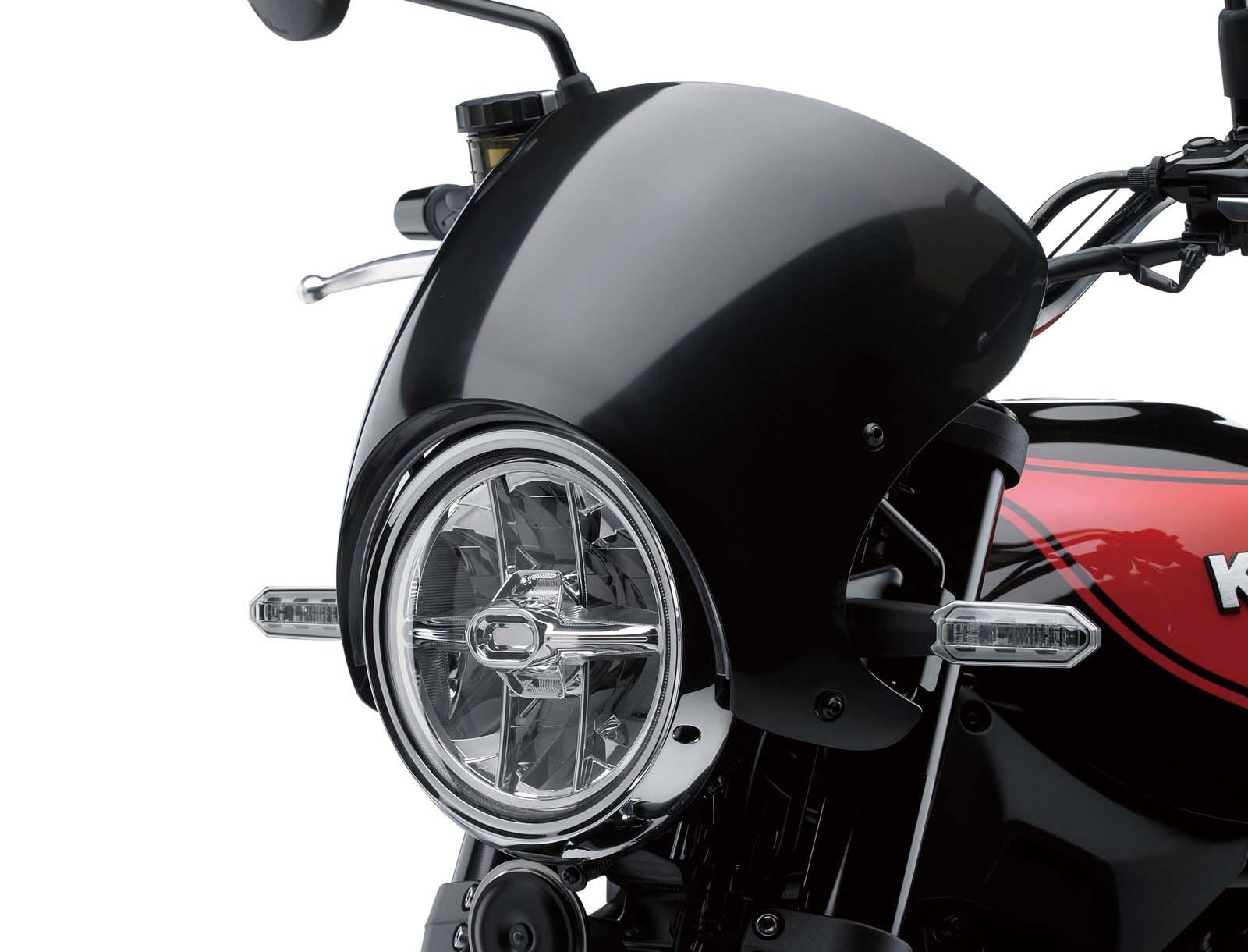 Retro Styled Kawasaki Z900rs Debuts In Tokyo Asphalt