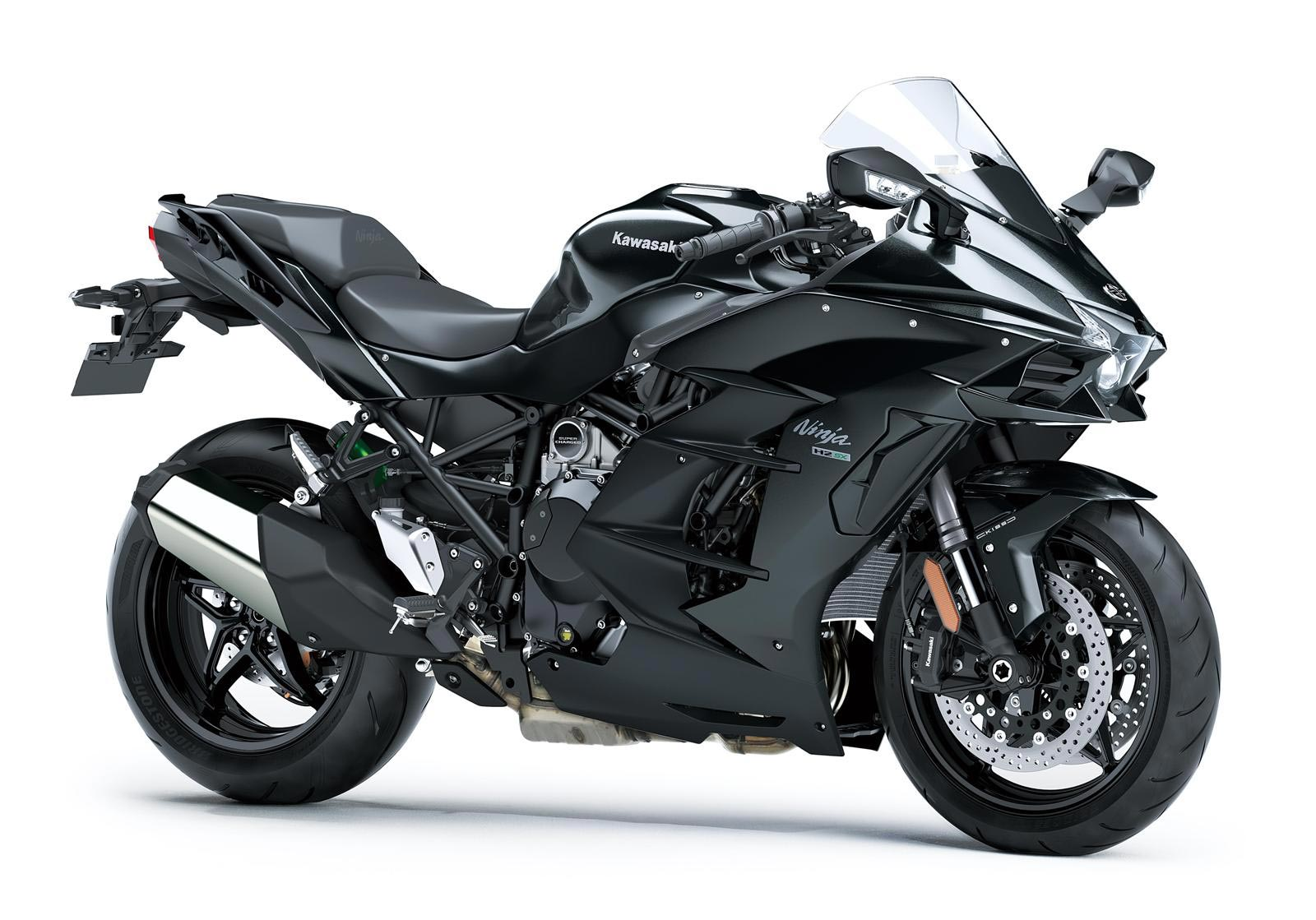 For Some Reason Kawasaki Just Cant Seem To Find More Weight Savings In Its Supercharged Platform Despite The Ninja H2 SX Motor 66 Lbs Less Than