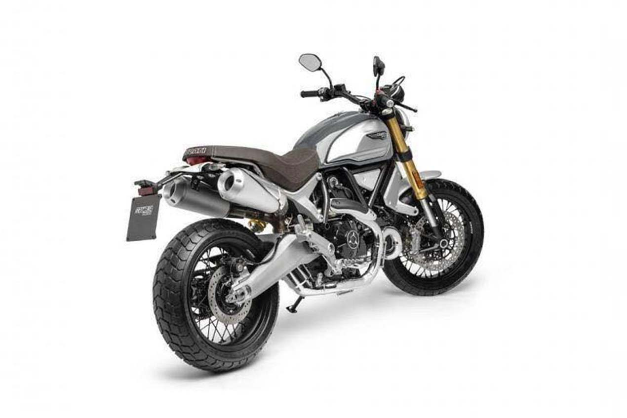 Here Is The Ducati Scrambler 1100 Asphalt Rubber