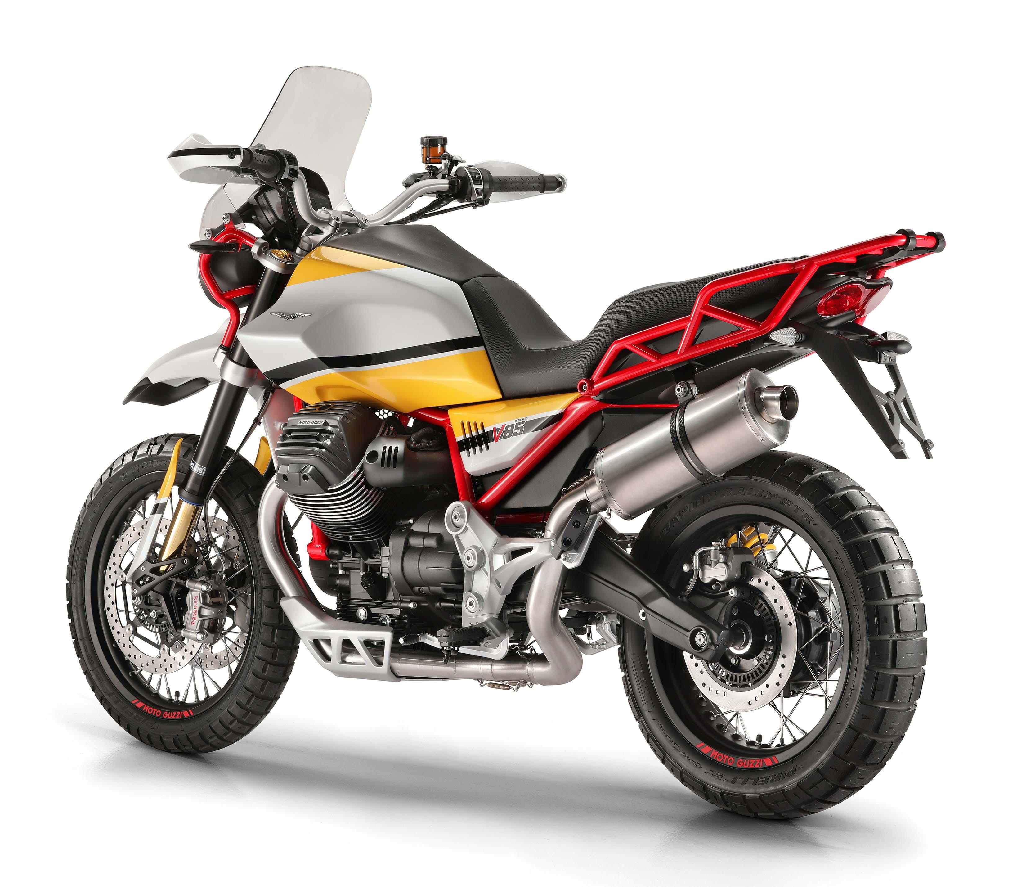 moto guzzi v85 a new platform a new enduro asphalt rubber. Black Bedroom Furniture Sets. Home Design Ideas