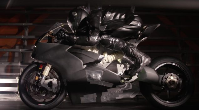 One thing Attention-grabbing from Ducati's Wind Tunnel Testing