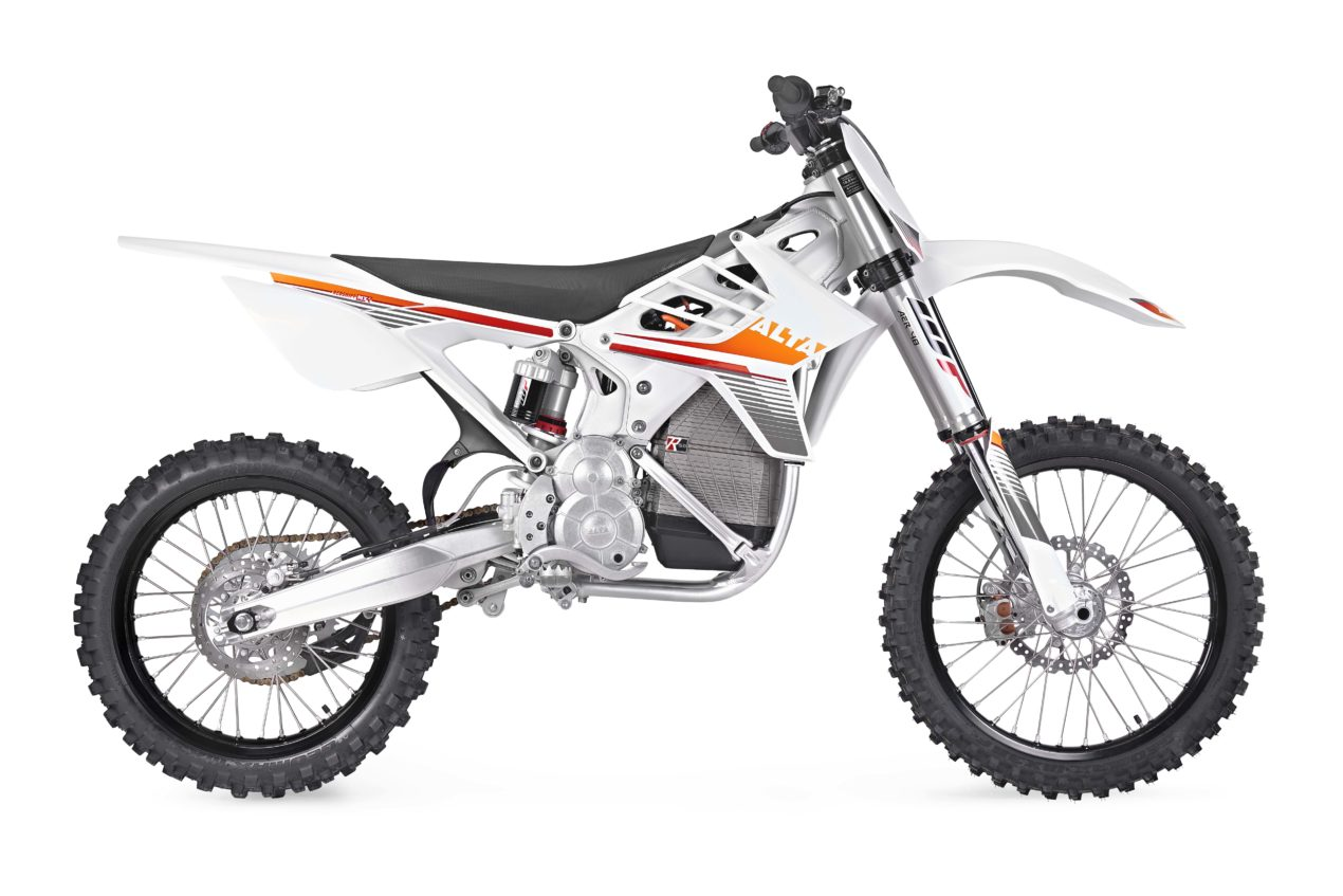 Alta Motors Redshift Mxr Officially Debuts