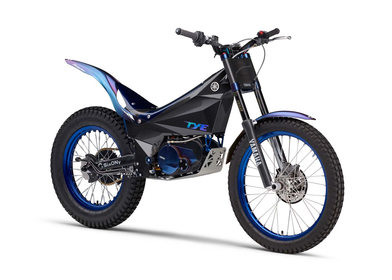 Yamaha Electric Motorcycle >> Yamaha S Super Trick Electric Trials Bike Debuts Asphalt Rubber