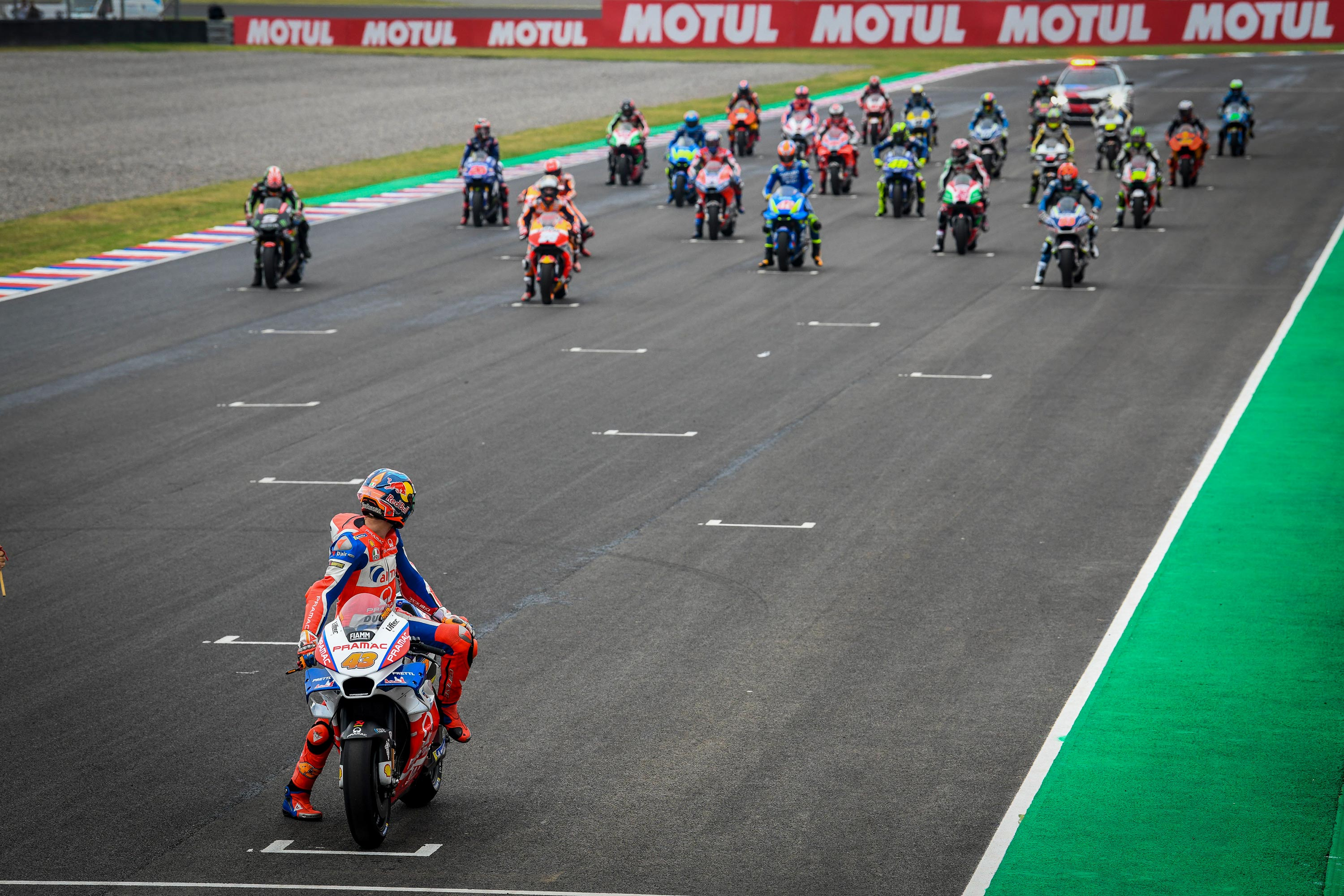 On Saturday After Qualifying I Wrote About How One Of Motorcycle Racings Defining Characteristics Is Its Unpredictability That Was Written In Response To