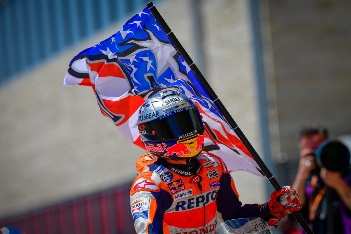 Marc Marquez Makes His Mark at the Americas GP