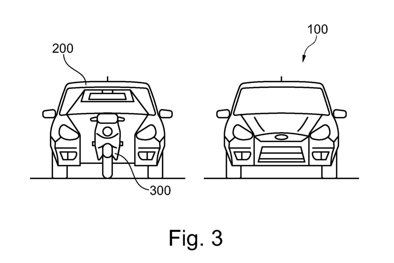 Your Next Ford Could Have A Built In Motorcycle