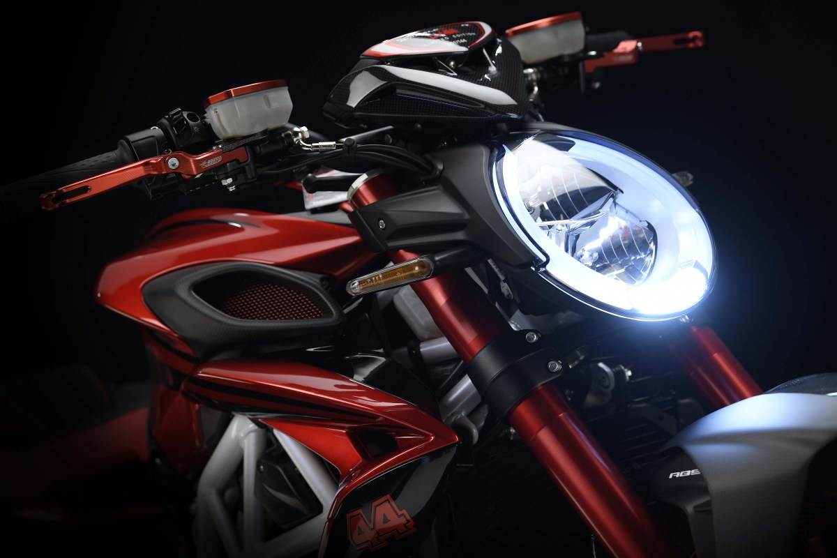 MV Agusta Brutale 800 RR LH44 Edition - Unleashing All That Lewis Hamilton Bling Bling