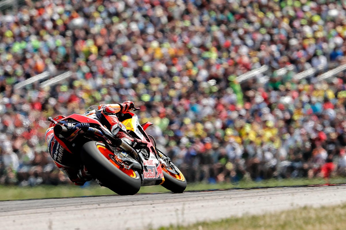 Unstoppable Marquez Wins the German GP at Sachsenring