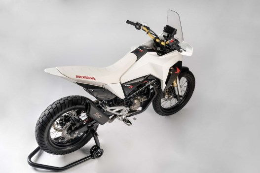 the honda cb125x concept makes us think dirty thoughts. Black Bedroom Furniture Sets. Home Design Ideas