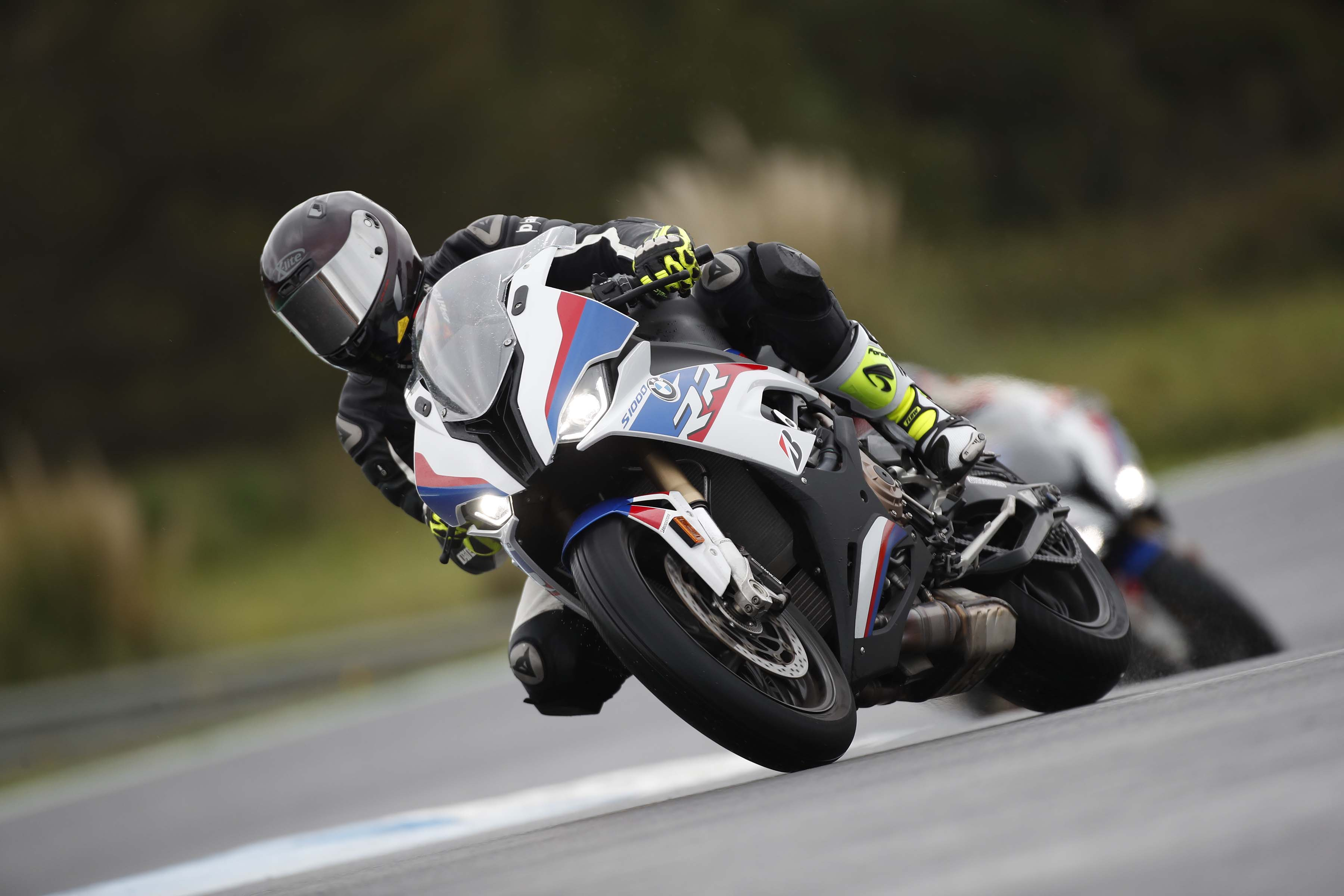 What It's Like To Ride The 2019 BMW S1000RR, A Wet Review