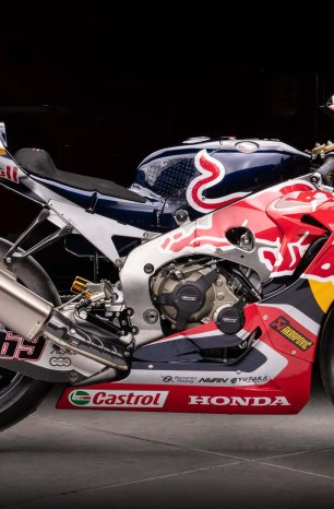 Nicky Hayden's Honda WorldSBK Race Bike Is for Sale