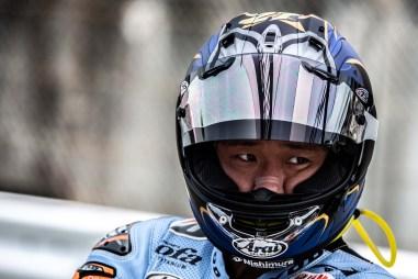 Everyone should remember Yamaha test rider Katsuyuki Nakasuga for his MotoGP podium at Valencia, but here at Suzuka is where he really shines.