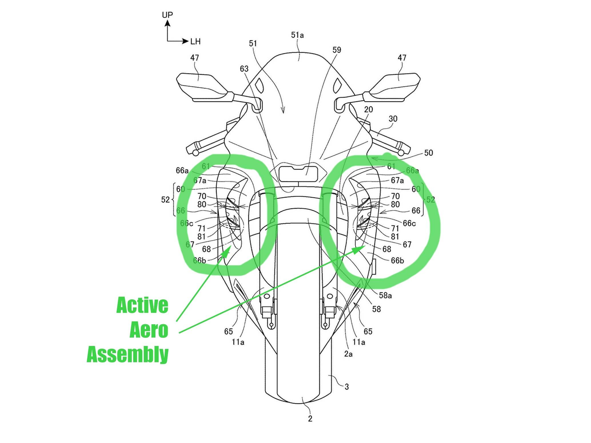 Honda CBR1000RR 2020 patent reveal