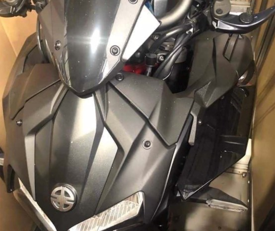 First Photos of the Kawasaki ZH2 Leak Online