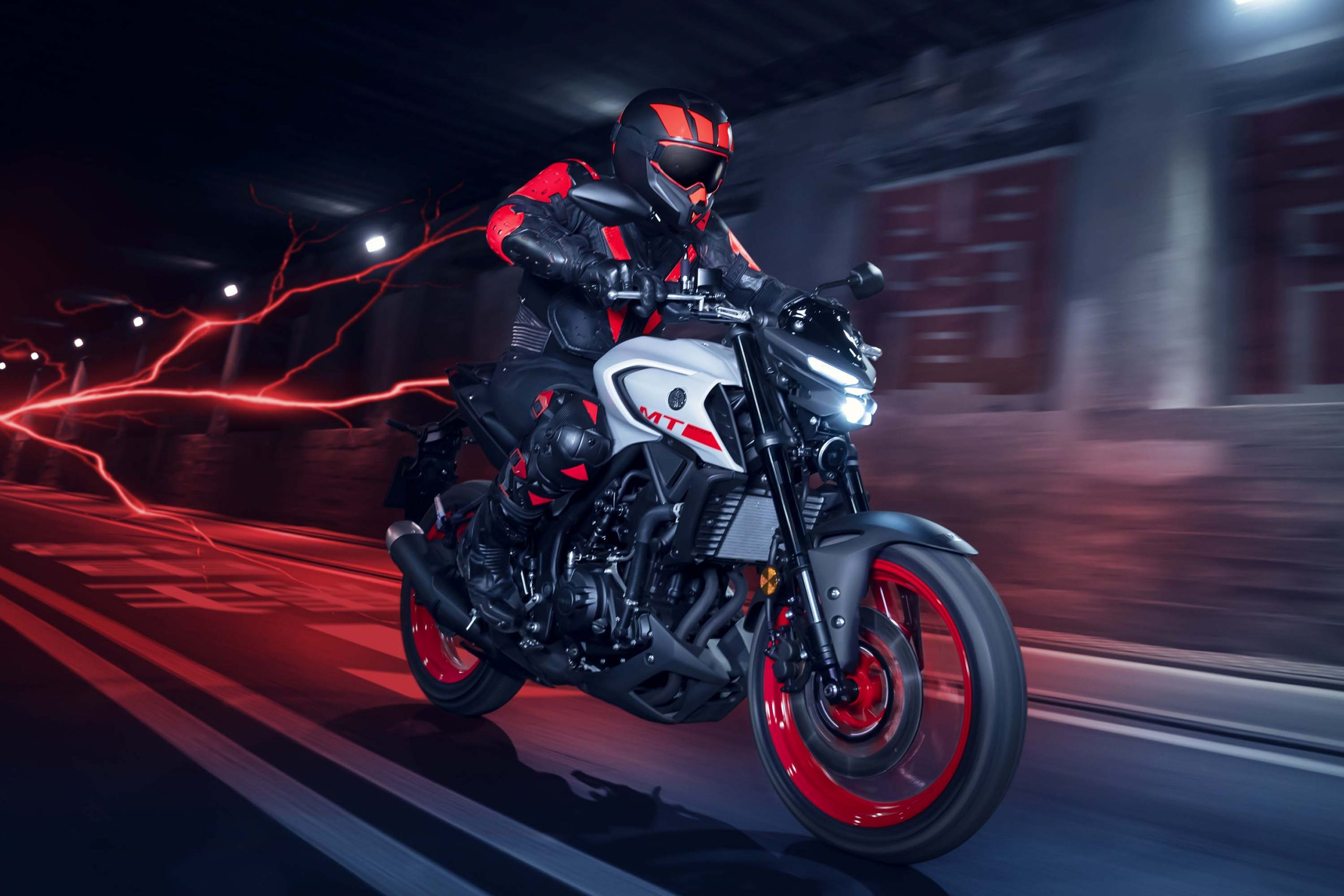 Ny Yamaha MT-03 - Midnight Black 2020 til salg - 123mc
