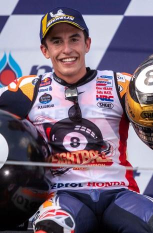 Marc Marquez Signs MotoGP Contract with Honda thru 2024