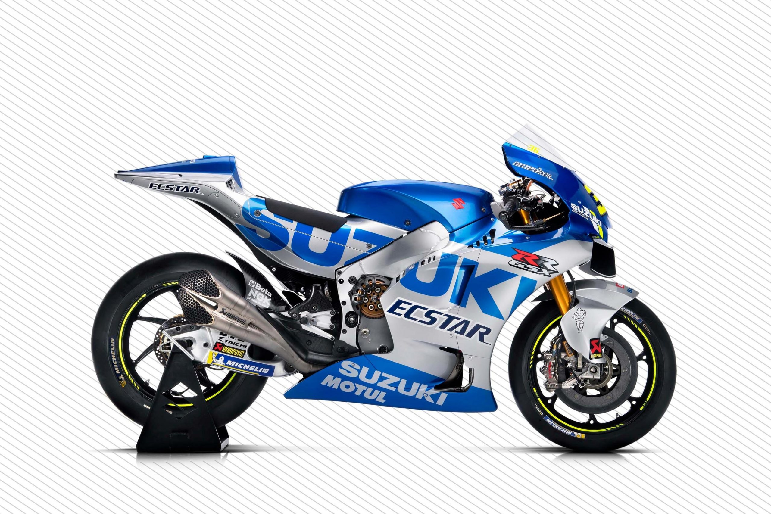 Suzuki Gsx Rr Motogp Race Bike Gets Bold New Graphics For 2020 Asphalt Rubber