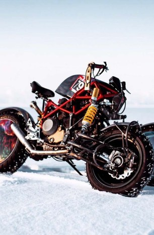 This Russian Three-Wheeled Ice Racer from Balamutti Is Super Cool