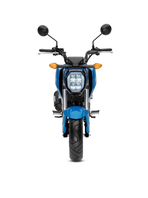 2022 Honda Grom ABS Candy Blue front