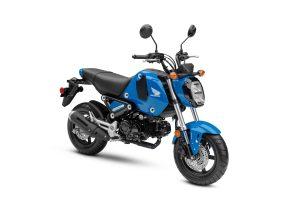 2022 Honda Grom Candy Blue RF34
